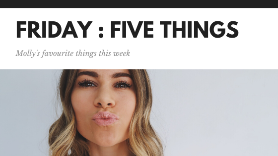 Friday: Five things