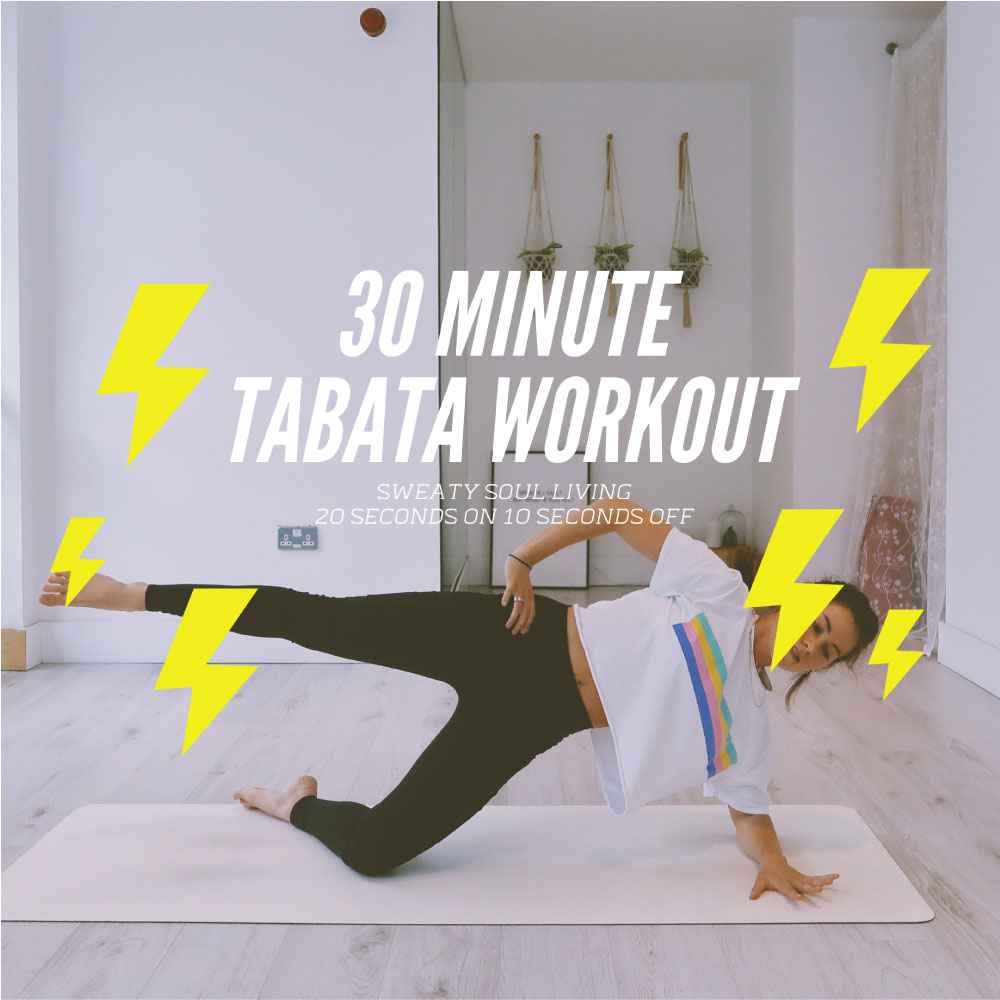 Short Burst Tabata Workout
