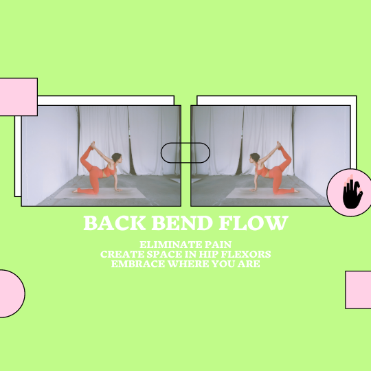 Embrace Space, Eliminate Pain : Backbending