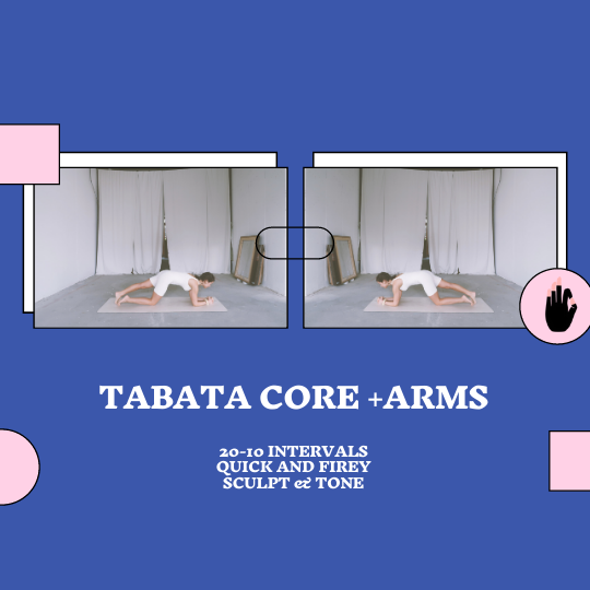 Tabata Core + Arms