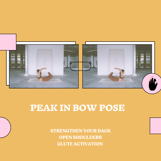 Peak in Bow Pose