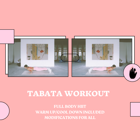 Full Body Tabata Workout