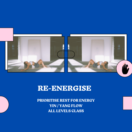 Re-energise in Recovery