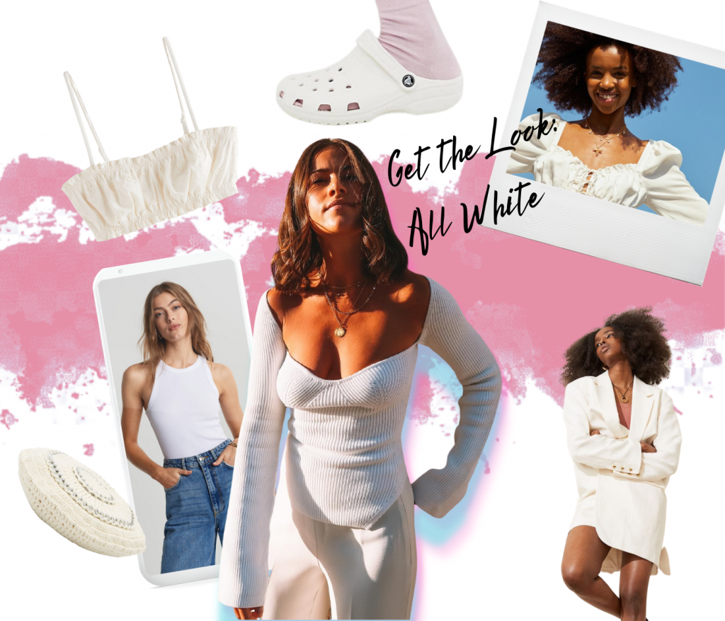 GET THE LOOK : ALL WHITE